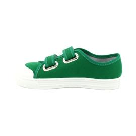 Befado obuwie dziecięce 440X013 zielone 1