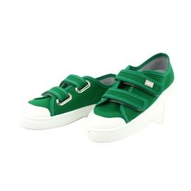 Befado obuwie dziecięce 440X013 zielone 2