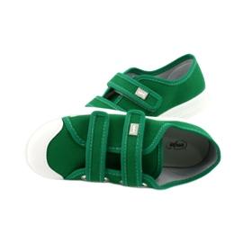 Befado obuwie dziecięce 440X013 zielone 4
