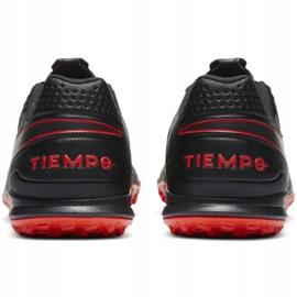 Buty piłkarskie Nike Tiempo Legend 8 Academy Tf M AT6100 060 wielokolorowe czarne 4