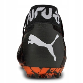 Buty piłkarskie Puma Future 6.1 Netfit Mg M 106181-01 wielokolorowe czarne 4