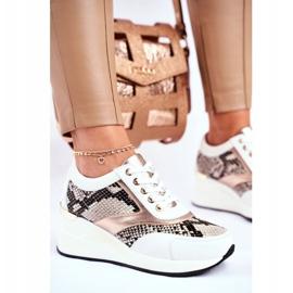 GOE Sportowe Damskie Buty Sneakersy Skórzane Białe GG2N3045 wielokolorowe 1