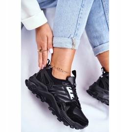 Sportowe Damskie Buty Sneakersy Big Star Czarne GG274981 3