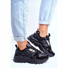 Sportowe Damskie Buty Sneakersy Big Star Czarne GG274981 1