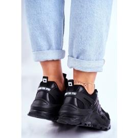 Sportowe Damskie Buty Sneakersy Big Star Czarne GG274981 2