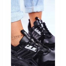 Sportowe Damskie Buty Sneakersy Big Star Czarne GG274981 5