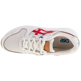 Buty Asics Lyte Classic M 1191A333-100 białe czerwone 2