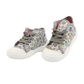 Befado obuwie dziecięce 218P061 szare wielokolorowe 3
