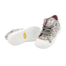 Befado obuwie dziecięce 218P061 szare wielokolorowe 4