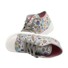 Befado obuwie dziecięce 218P061 szare wielokolorowe 5