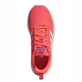 Buty adidas Lite Racer Cln Jr FV9609 różowe 1
