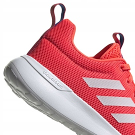 Buty adidas Lite Racer Cln Jr FV9609 różowe 3