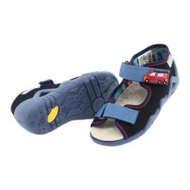 Befado żółte obuwie dziecięce 350P014 czerwone granatowe niebieskie 4