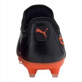 Buty piłkarskie Puma King Pro Fg M 105608-06 czarne wielokolorowe 1