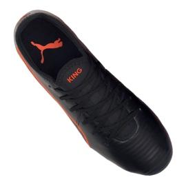 Buty piłkarskie Puma King Pro Fg M 105608-06 czarne wielokolorowe 2