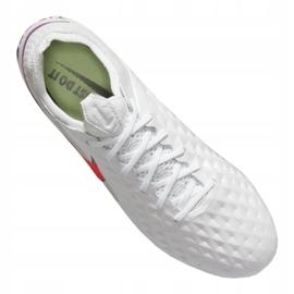 Buty piłkarskie Nike Legend 8 Elite Fg M AT5293-163 wielokolorowe białe 4