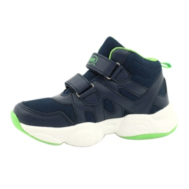 Befado obuwie dziecięce  516X049 granatowe zielone 1