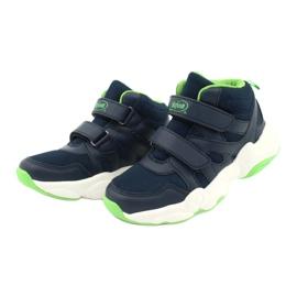 Befado obuwie dziecięce  516X049 granatowe zielone 2