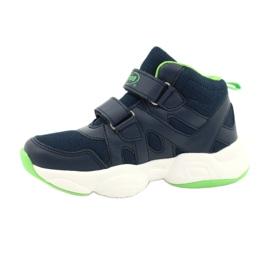Befado obuwie dziecięce  516Y049 granatowe zielone 1