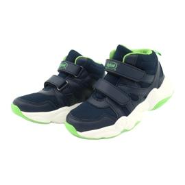 Befado obuwie dziecięce  516Y049 granatowe zielone 2