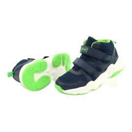 Befado obuwie dziecięce  516Y049 granatowe zielone 3