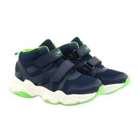 Befado obuwie dziecięce  516Y049 granatowe zielone 6