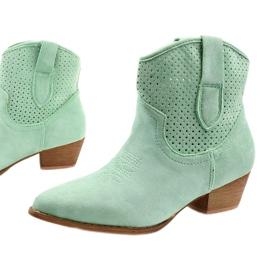Zielone kowbojki damskie Raithea 1