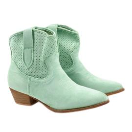 Zielone kowbojki damskie Raithea 2