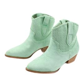 Zielone kowbojki damskie Raithea 3
