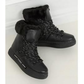 Śniegowce grubo ocieplane czarne BK903 Black 3