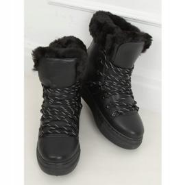 Śniegowce grubo ocieplane czarne BK903 Black 4