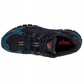 Buty Asics Gel-Kayano 5 360 M 1021A160-002 czarne niebieskie 2