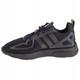 Buty adidas Zx 2K Flux Jr FV8551 białe czarne 1