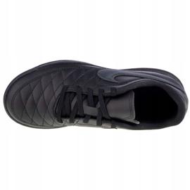 Buty Nike Majestry Ic Jr AQ7895-001 białe czarne 2