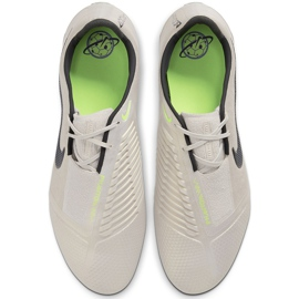 Buty piłkarskie Nike Phantom Venom Elite Fg AO7540 005 białe beżowy 1