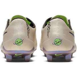 Buty piłkarskie Nike Phantom Venom Elite Fg AO7540 005 białe beżowy 4