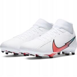 Buty piłkarskie Nike Mercurial Superfly 7 Academy FG/MG M AT7946 163 białe 1