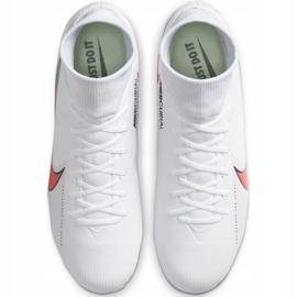 Buty piłkarskie Nike Mercurial Superfly 7 Academy FG/MG M AT7946 163 białe 2