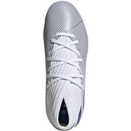 Buty piłkarskie adidas Nemeziz 19.3 Fg Jr EG7245 szare srebrny 1
