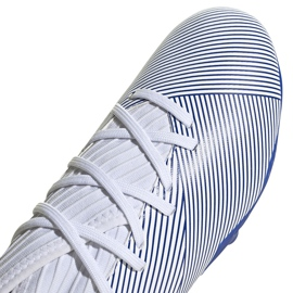 Buty piłkarskie adidas Nemeziz 19.3 Fg Jr EG7245 szare srebrny 3