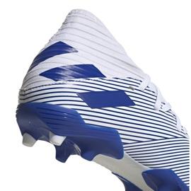Buty piłkarskie adidas Nemeziz 19.3 Fg Jr EG7245 szare srebrny 4
