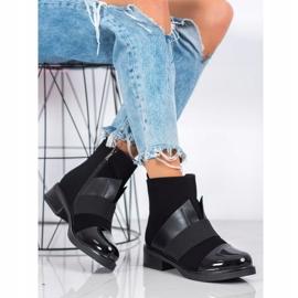 ENPLUS Czarne Botki Fashion 2