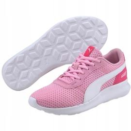Buty Puma St Active Jr 369069 14 niebieskie różowe 1