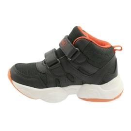 Befado obuwie dziecięce  516X050 pomarańczowe szare 2