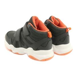 Befado obuwie dziecięce  516X050 pomarańczowe szare 5
