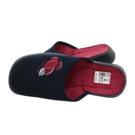 Befado obuwie damskie pu 019D121 granatowe 5