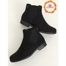 Sztyblety damskie czarne 8B957 Black 1