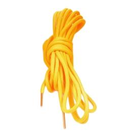 Czarne zamszowe botki sznurowane Centrifugal żółte 4