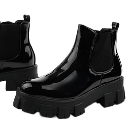 Czarne botki na platformie Lilney NC1086 1