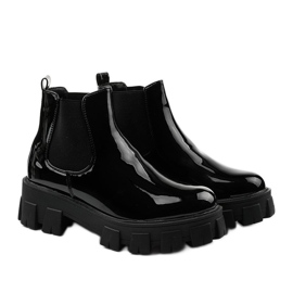 Czarne botki na platformie Lilney NC1086 2